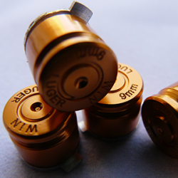 Boutons Balles 9mm Gold PS4