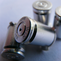 Boutons Balles 9mm Silver PS3