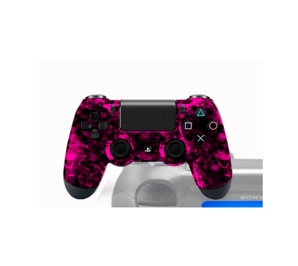 manette ps4 pro gamers avec peinture customis e animus. Black Bedroom Furniture Sets. Home Design Ideas