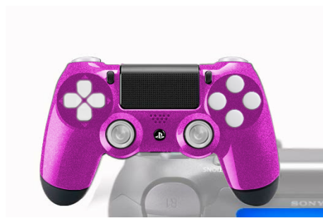 manette ps4 fps avec peinture custom deadshot. Black Bedroom Furniture Sets. Home Design Ideas