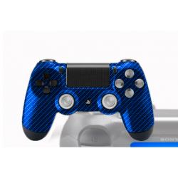 Manette PS4 avec peinture custom Poséidon