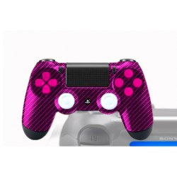 Manette PS4 Pro Gamers Perso Red
