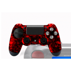 Manette Playstation 4 Customisée Croc