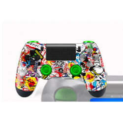 Manette PS4 Customisée M'man