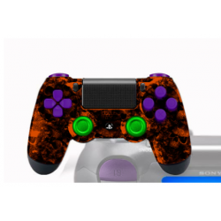 Manette Sony Dualshock 4 PS4 Custom Arcas