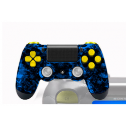 Manette PS4 pour PC Custom Bloody