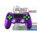 Manette Playstation 4 avec peinture custom Loki