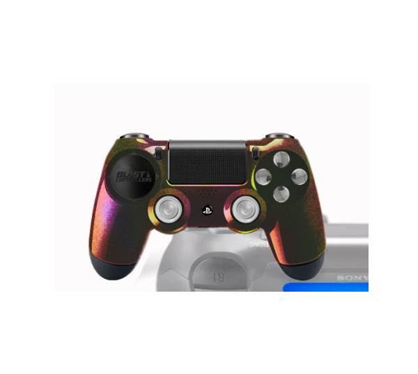 Manette PS4 FPS Customisée Dark