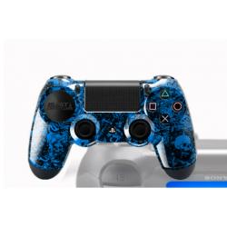Manette PS4 FPS avec peinture custom Bang
