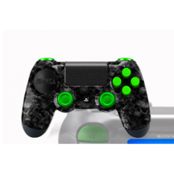 Manette PS4 Pro Gamers avec peinture customisée Spook