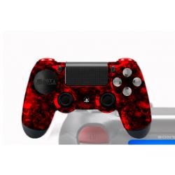 Manette PS4 pour PC avec peinture perso Moon