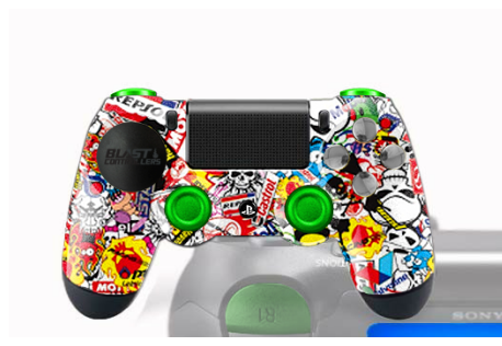 available arriving new images of Manette Sony Dualshock 4 PS4 Custom demoniac