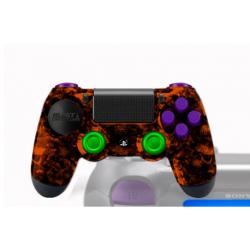 Manette Playstation 4 avec peinture unique Artémis