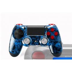Manette Sony Dualshock 4 PS4 avec peinture unique Hélios