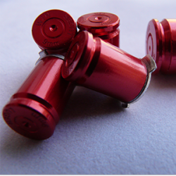Boutons Balles 9mm Rouge Xbox360