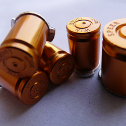 Boutons Balles 9mm Gold Xbox360