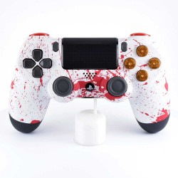 Manette PS4 Taches de sang FPS