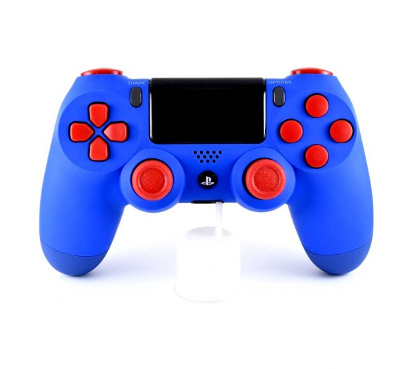 Manette PS4 SOFT TOUCH BLEU