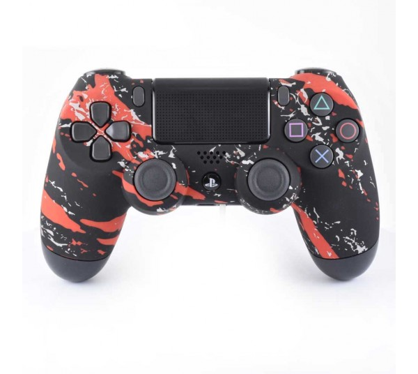 MANETTE PS4 CAMO ROUGE SOFT TOUCH EXPRESS 48H