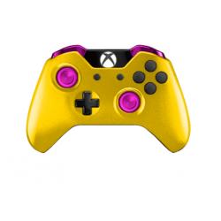 Manette Microsoft Xbox One avec peinture unique Venom