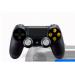 Manette FPS Playstation 4 avec peinture unique Galactus