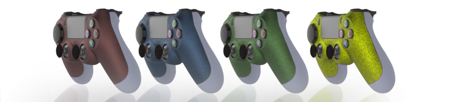 coque grip manette ps4